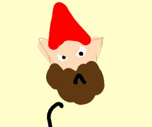 Angry gnome