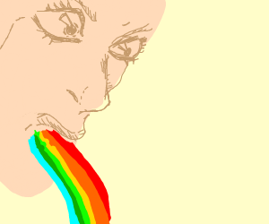 Vomiting multiple colours