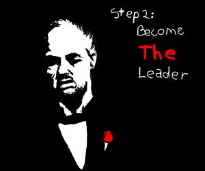 step one: join the mafia. (: