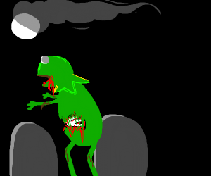 Frog-Zombie!