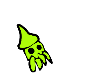 The Kraken from Splatoon