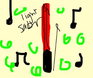 lightsaber music
