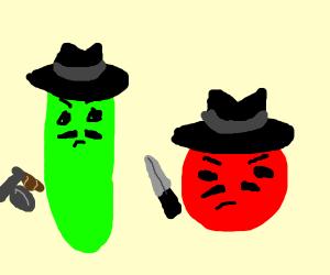 Veggie tails gone mafia
