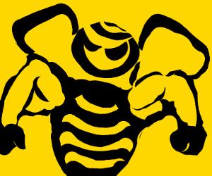 Swole killer bee
