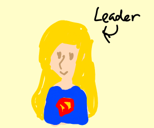 Supergirl is the leader