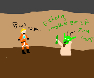 Drunk Master Yoda
