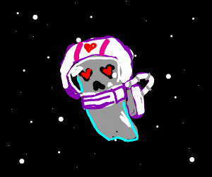 Space ghosts in love