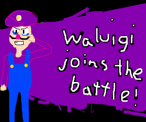 Waluigi for smash