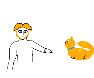 Hans wants to let Garfield