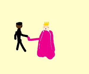 Barack Obama meets a princess cat