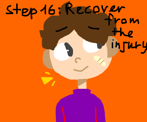 Step 15 use a bandaid