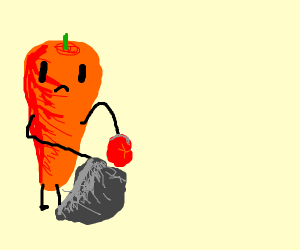 Carrot Garbageman