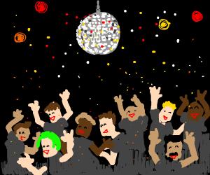 Discoball dance clubbin