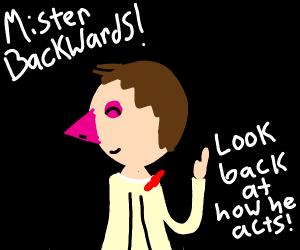 mr backwards