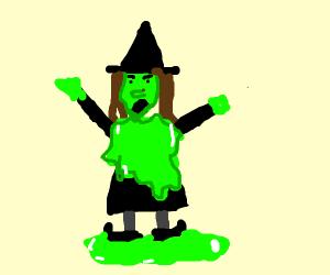 Slimy Witch