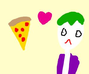 Pizza loves Joker