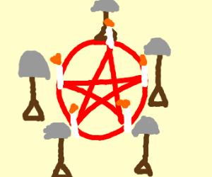 Shovel ritual