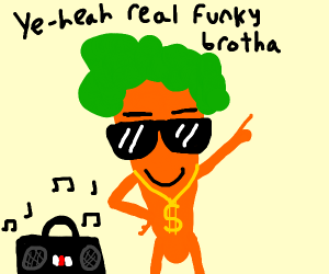 funky carrot