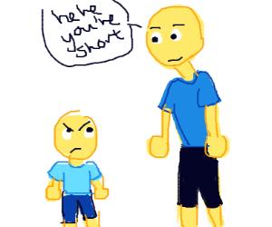 He short