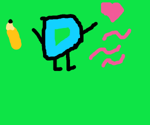 drawception D loves worm