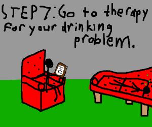 Step 6: Get drunk.