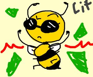 Lit bee