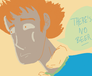 spike spiegel says there's no beer