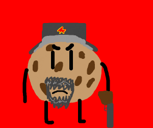 in Mother Russia, cookie eats you