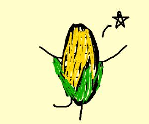peeling corn, dancing