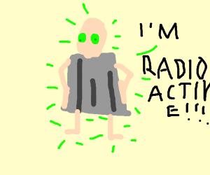 Super Radioactive Bin Man!