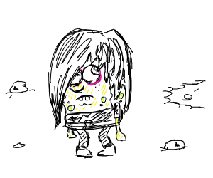Spongebob goes emo