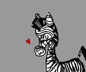 An UWU zebra