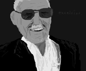 Smiling Stan Lee