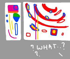 not understanding abstract art