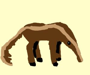 horse / anteater hybrid