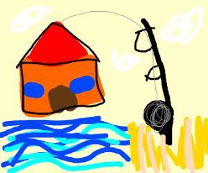 Reeling in a House
