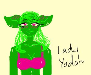 Lady Yoda (oh no)