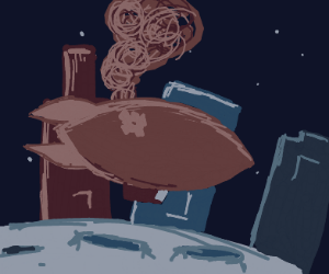 Steampunk in space