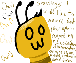 OwO bee says hi