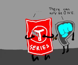 stabbing t series