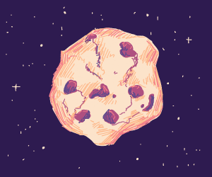 Space cookie