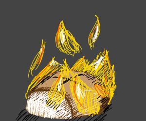 Bun on Fire.