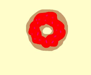 RED DOUNUT