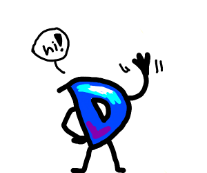 Drawception D says hi!