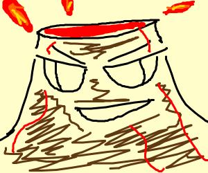 anime volcano