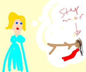 Cinderella plans to murder her stepmother