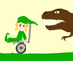 Wheelchair Link runs from dino