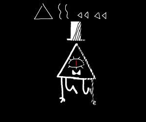 Bill cipher stares at you