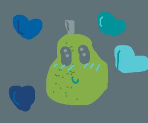 A precious pear