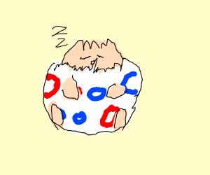 egg sleeping ;3
